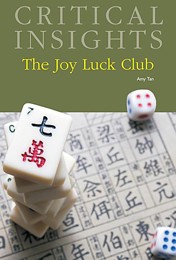 a literary analysis of joy luck club by amy tan