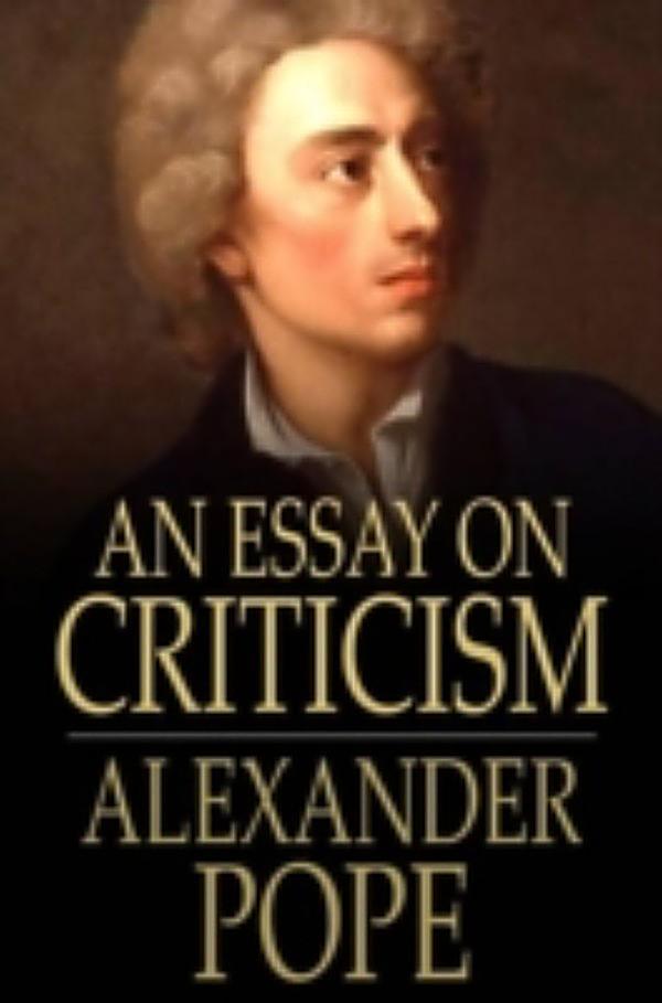 Essay in criticism