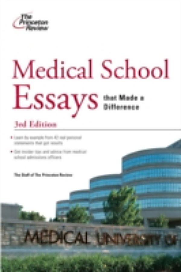 medical school essay examples