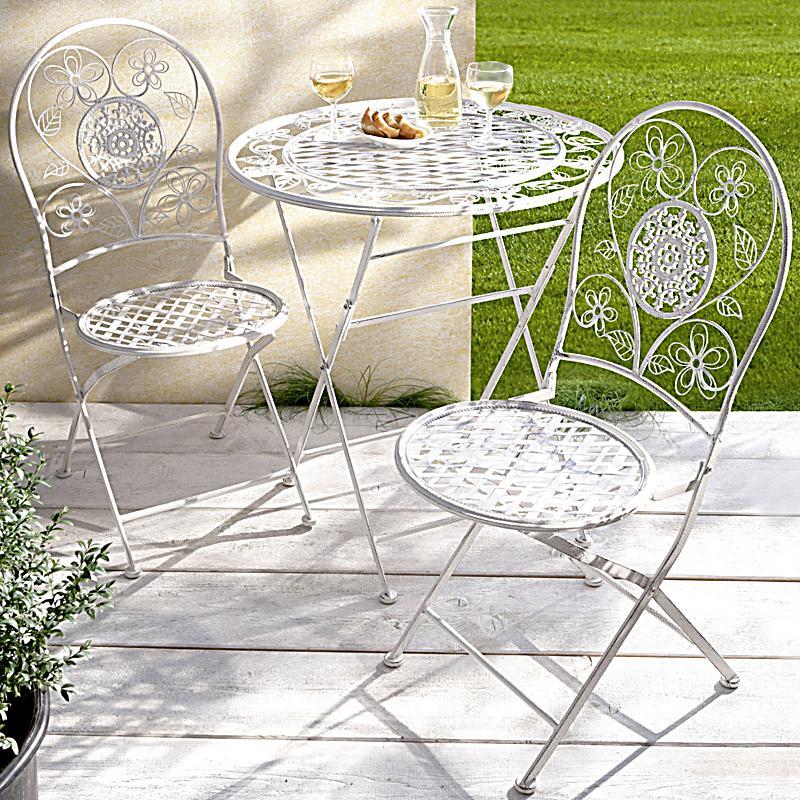 Gartenmobel Weis Metall ~ Kreative Bilder für zu Hause Design ...