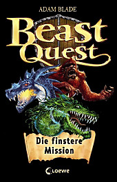 Beast Quest - Die finstere Mission, m. Audio-CD, Adam Blade, Jugendbuch ab 10
