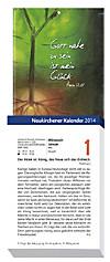 Neukirchener Kalender, Abreißkalender, Großdruck 2015