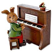 """Spieluhr """"Piano Hase"""", 2-teilig"""